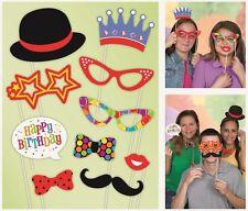 Feliz Cumpleaños pajarita PICOS Foto Accesorios fotomatón Fiesta 10 1-5pk