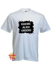 Ignorar Alien pedidos Joe Strummer Clash Punk Rock Retro T Shirt Todos Los Tamaños