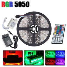 1/2/3/5M 5050 SMD LED Stripe RGB Leiste Streifen Band Licht Leuchte Lichterkette