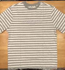 0e116c2db742 ASAP Rocky x GUESS Grey striped T-Shirt Size M-XL -Ships Immediately