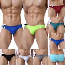 Men's Sexy Underwear Swim Trunks Briefs Sport Swimming Bikini Swimwear s8