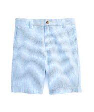 NWT Vineyard Vines Boys Seersucker Stripe Club Shorts $49.50 Sz.14