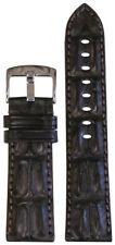 22mm Panatime Brown Premium Genuine Hornback Alligator Watch Band 125/75 22/20