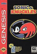 Sonic & Knuckles, (SEGA Genesis)