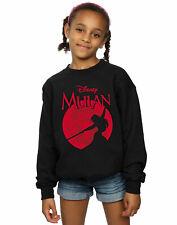 Disney Girls Mulan Dragon Silhouette Sweatshirt