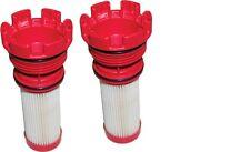MERCURY PAIR OPTIMAX VERADO RED FUEL FILTERS OUTBOARD 35-8M002034 PACK OF 2