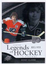 11-12 Upper Deck SPX Legends of Hockey #118 Bobby Clarke #/499