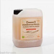 Kanne Fermentgetreide® flüssig für Boden Pflanzen Wasser 5kg Kanister 3,38€/kg