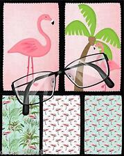 Gafas Rosa Flamingo Diseño De Paño De Limpieza Idea Regalo Perfecto