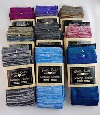 Knee socks ladies two tone marled stripe pattern one size Britts Knits