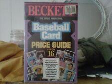 SPORT AMERICANA BASEBALL CARD $$$ GUIDE -#16 BRAND NEW IN SHRINK WRAP 1994