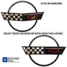Corvette C4 91-96 Nose Hood Emblem Gas Lid Emblem or Both