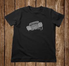64 Impala 3 Wheel Lowrider Toddler T Shirt 2T - 7 Black or White
