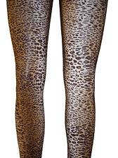 Leggins TIGER LEOPARD LOOK Leggings Capri Hose S M L XL