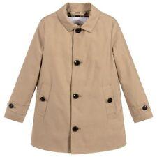 NWT NEW Burberry Bradley kids boys honey beige trench coat 4 5 6 7 8y