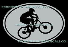 VRS OVAL Cycling Mountain Bike Bicycle Guy Helmet CAR DECAL VINYL STICKER