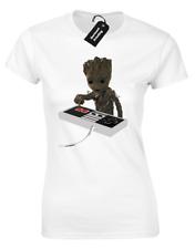 Bébé Groot bombe Femmes T Shirt Yeah Gardiens Yondu Galaxy ROCKET MARVEL SUPERBE