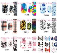 14 Nail Patch-Adesivi Smalti-Stickers Adesivi per Decorazione Unghie-Manicure!!!