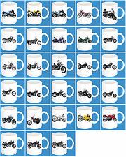 300ml Keramik Becher mit Motiv: Suzuki Teil 2 Motorrad Modelle Kaffee Tasse