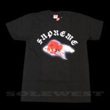 BRAND NEW SS16 SUPREME SASQUATCHFABRIX GOLD FISH TEE BLACK SMALL TRUSTED SELLER