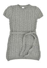 königsmühle Niños Vestido de punto gris suave talla 104 110 116 122 128 134