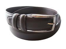 Cinturon De Caballero Color Marron Y Negro en 3 Medidas (95,105,115 CMS.)