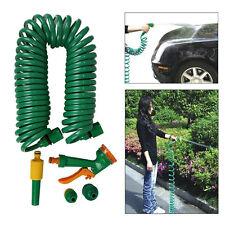 Yard Garden Clean Car Wash Water Gun Stretch Hose Multifunction Spray Nozzle NEW