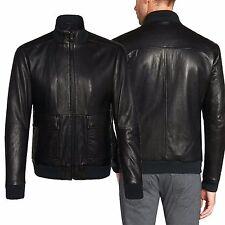 US Men Leather Jacket Hommes veste cuir Herren Lederjacke chaqueta de cuero R115