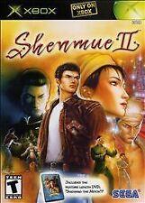 BRAND NEW SEALED XBOX incl. DVD -- Shenmue II (Microsoft Xbox, 2002)