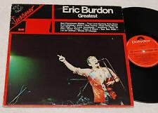 ERIC BURDON:LP-GREATEST-ITALIA 1976 EX++