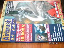 Airbrush Art + Action n°54 Showroom technique matériel