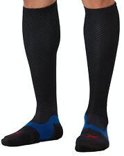 2XU Elite Lite X-Lock Compression Socks Herren Schwarz/Schwarz MA4634e