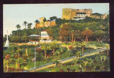 ORAN Chateau Neuf et la Promenade de l'Etang Algeria Africa Vintage Postcard