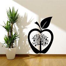 Cocina Apple Tree Flor De Pared Moderno Arte Sticker Calcomanía de transferencia de la plantilla Mural