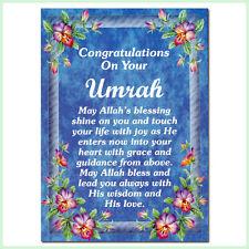 UMRAH MUBARAK Congratulations Greeting Cards Islamic/Muslim Gifts