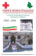 CROCE ROSSA ITALIANA UMBRIA SCHEDA TELEFONICA TELECOM NUOVA 2440