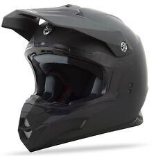 Gmax Adult MX86 Black Motocross Offroad Dirt Bike Helmet - Pick Size