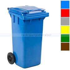 Mülltonne Abfallbehälter Kunststoff 120 L verschiedene Farben