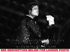 MICHAEL JACKSON WORKIN BILLIE JEAN (1) RARE 8x10 PHOTO