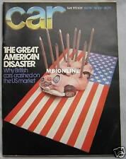 CAR 05/1973 Featuring Alfa Romeo Montreal, BMW, Triumph, Audi, Mercedes, Fiat