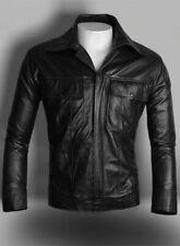 Elvis Men's Black Classic Soft Lambskin Real Leather Fashion Jacket