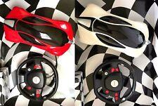 R/C RADIO CONTROL RICARICABILE BATTERIA Bounce Rollover Stunt Car grande scala 1:14