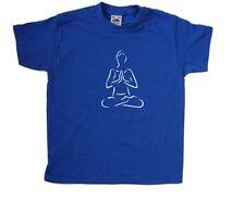 Yoga Lotus plantean Kids Camiseta