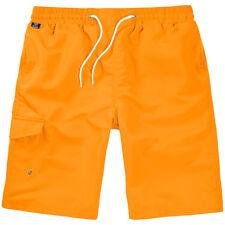Brandit Bañador Vida Protector Pantalones Playa Natación Hombres Trunks Naranja