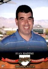 2007 Tucson Sidewinders Multi-Ad #35 Ryan Radtke Broadcaster - NM Baseball Card
