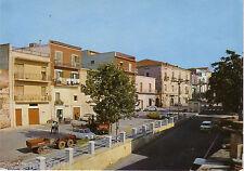 B35, Cartolina MONTALBANO JONICO, MATERA - VIALE ERACLEA, FIAT 500, TRATTORE