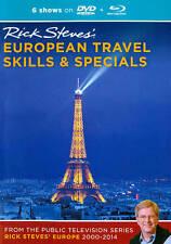 Rick Steves European Travel Skills & Specials (Blu-Ray & DVD) FREE SHIPPING