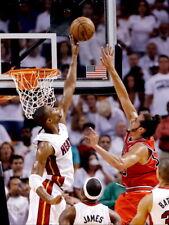 Chris Bosh Block Miami Heat Basketball Sport Huge Print POSTER Affiche