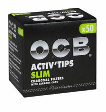 OCB ACTIV`TIPS SLIM 7 mm oder EXTRA SLIM 6mm Aktivkohle-Filter