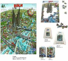 Mocca 333 Poster Colonia Cologne Puzzle Sack Dose Köln Comic Art Bernd Natke